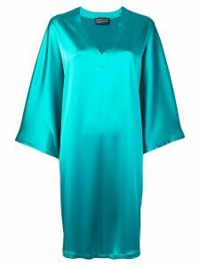 Gianluca Capannolo draped shift dress - Green