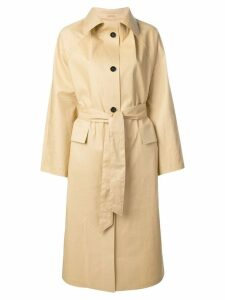 Kassl belted trench coat - Neutrals