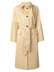Kassl belted trench coat - Neutrals