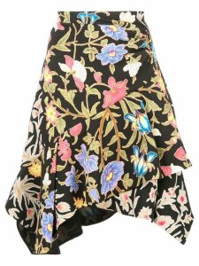 Peter Pilotto botanical skirt - Black