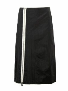 Maison Margiela Black High Rise Midi Skirt
