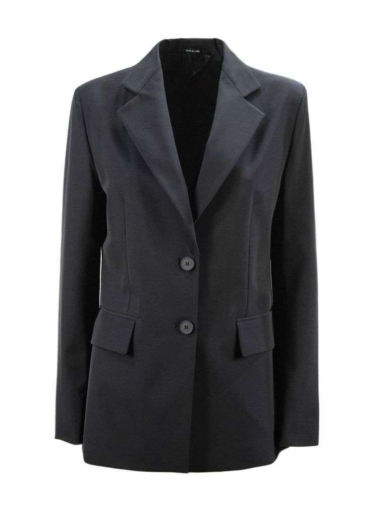 Maison Margiela Blue Fabric Blazer