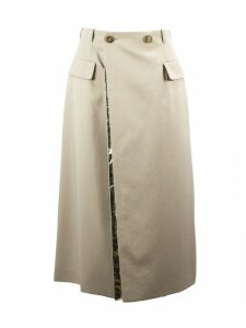 Maison Margiela Beige Cotton Blend Skirt