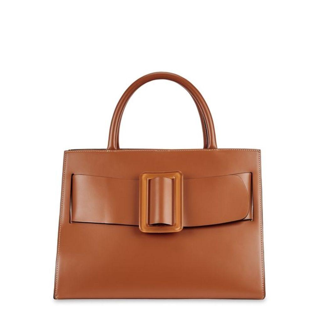 Boyy Bobby Brown Leather Top Handle Bag