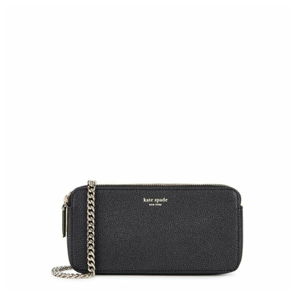 Kate Spade New York Margaux Black Leather Cross-body Bag