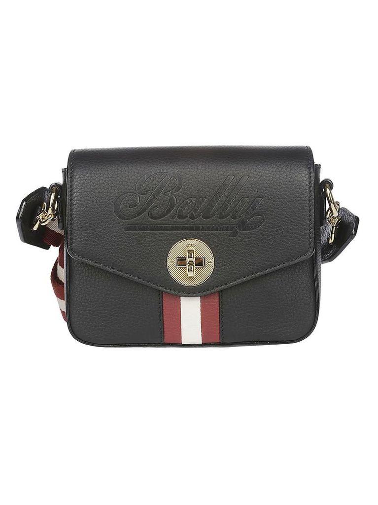 Bally Logo Embossed Shoulder Bag