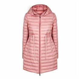 Moncler Barbel Pink Quilted Shell Jacket