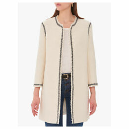 Gerard Darel Leonie Textured Coat, White