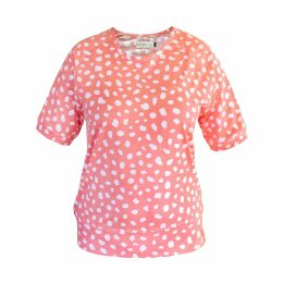 Libelula - Midi Violet Dress - Navy Spider Print