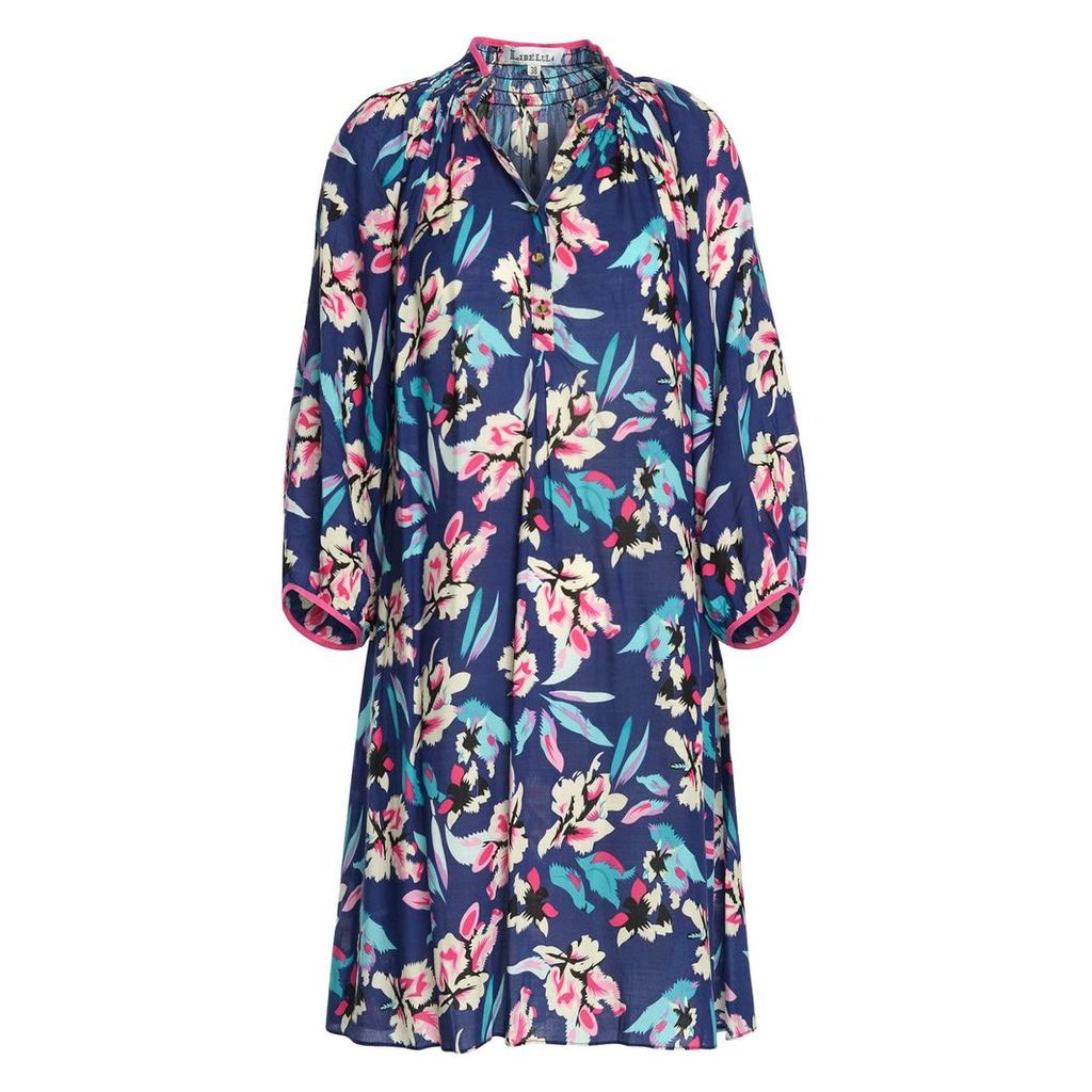 Libelula - Hartford Dress - Tropical Rayon Print