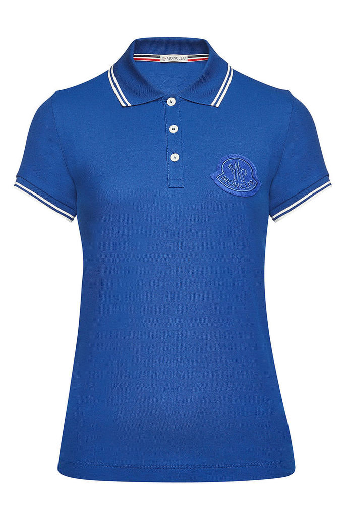 Moncler Cotton Polo Shirt