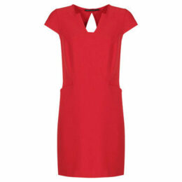 Mado Et Les Autres  Dress with feminine and modern cutouts  women's Dress in Red