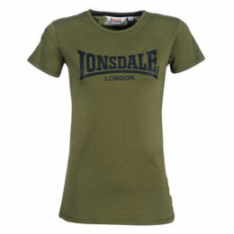 Lonsdale  MARYLEE  women's T shirt in Green