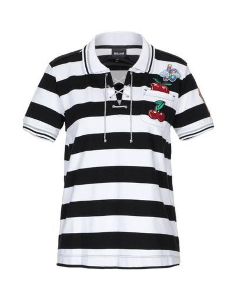 JUST CAVALLI TOPWEAR Polo shirts Women on YOOX.COM