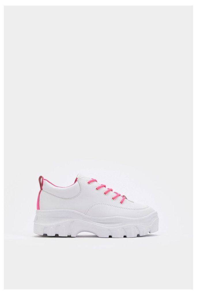 Neon the Wiser Chunky Sneakers