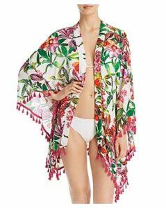 Trina Turk Welcome To Miami Kimono Swim Cover-Up - 100% Exclusive