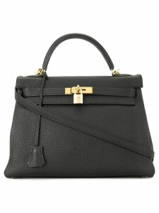 Hermès Pre-Owned Kelly 32 2way handbag - Black