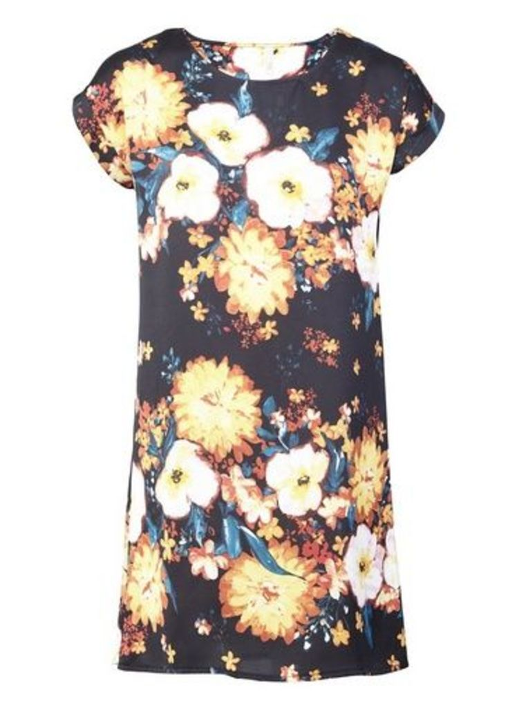Womens *Izabel London Burst Shift Dress- Multi, Multi