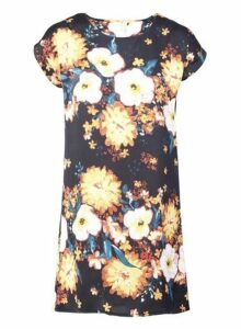 Womens *Izabel London Multi Colour Burst Shift Dress, Multi