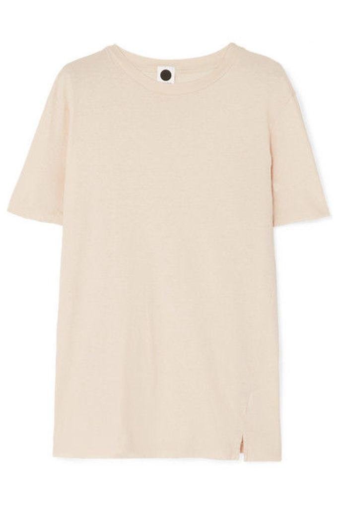 Bassike - Organic Cotton-jersey T-shirt - Beige