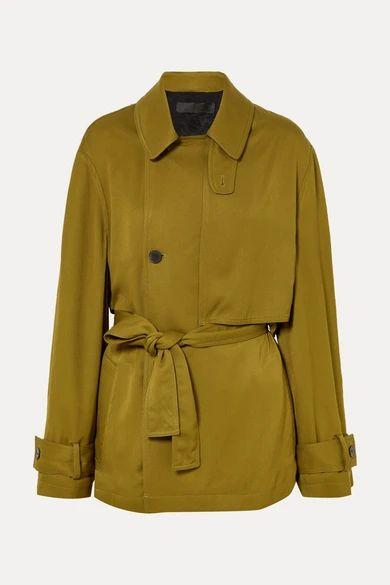 Haider Ackermann - Belted Twill Jacket - Gold