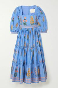 Brunello Cucinelli - Sequin-embellished Striped Linen Blazer - Black