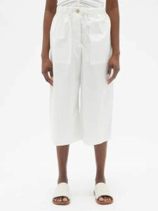 Raey - Long Line Reversible Shearling Coat - Womens - Nude