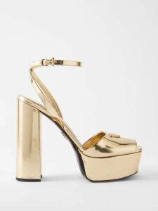 The Row - Iona Draped Cady Dress - Womens - Dark Green