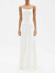 Giuliva Heritage Collection - Stella Double Breasted Wool Blazer - Womens - Navy