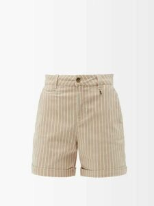 Françoise - Single Breasted Cotton Blazer - Womens - Cream