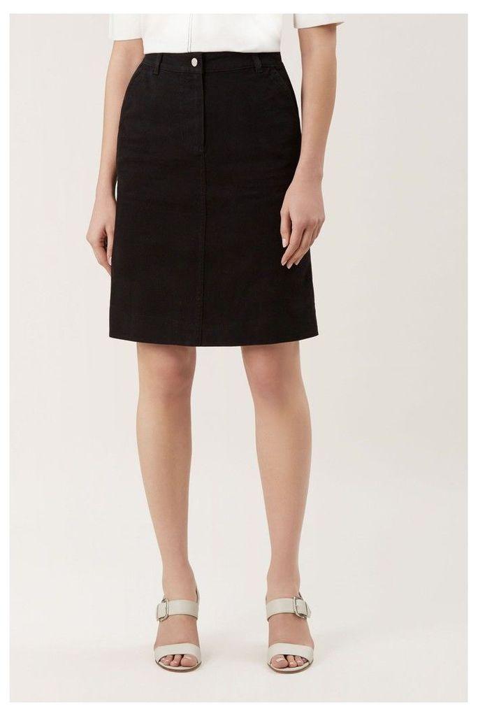 Womens Hobbs Black Bronte Skirt -  Black