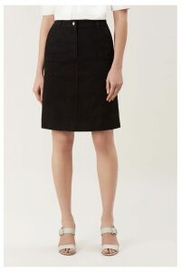 Womens Hobbs Black Bronte Skirt -  Black