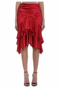 Alexandre Vauthier Ruffled Skirt