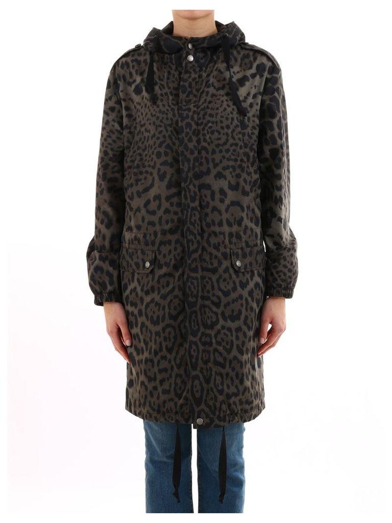 Saint Laurent Jacket Animal Print