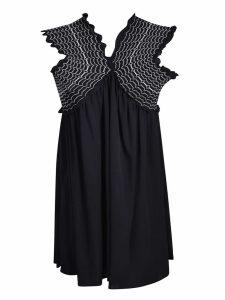 Dondup Sleeveless Ruffled Dress