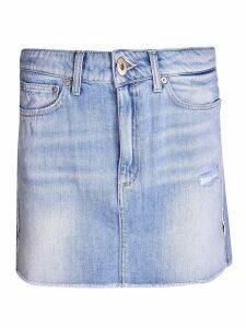 Dondup Short Denim Skirt