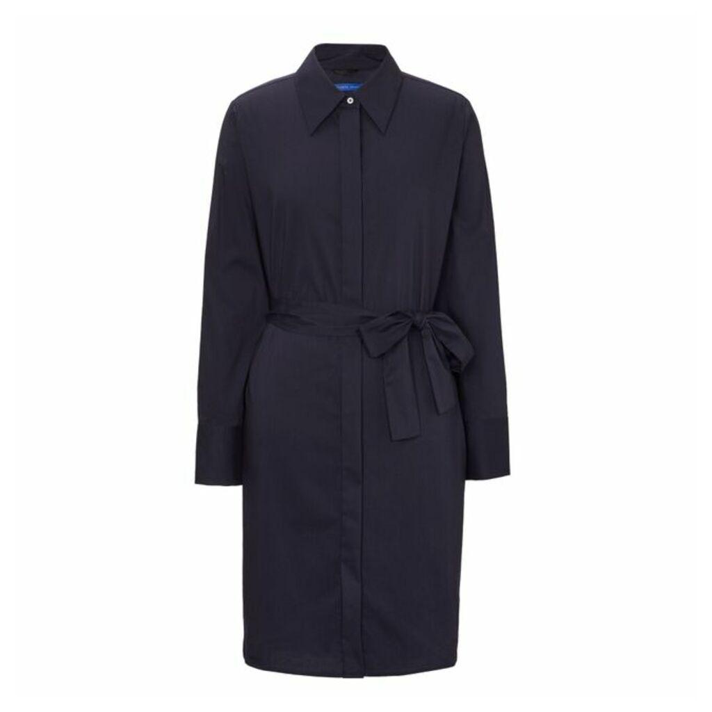 Winser London Cotton Poplin Shirt Dress