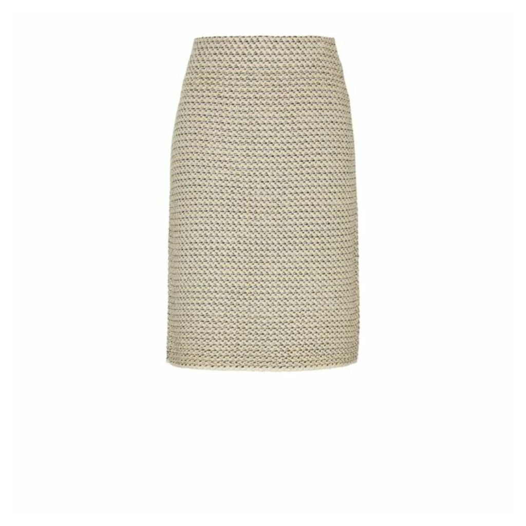 Winser London Cotton Tweed Skirt