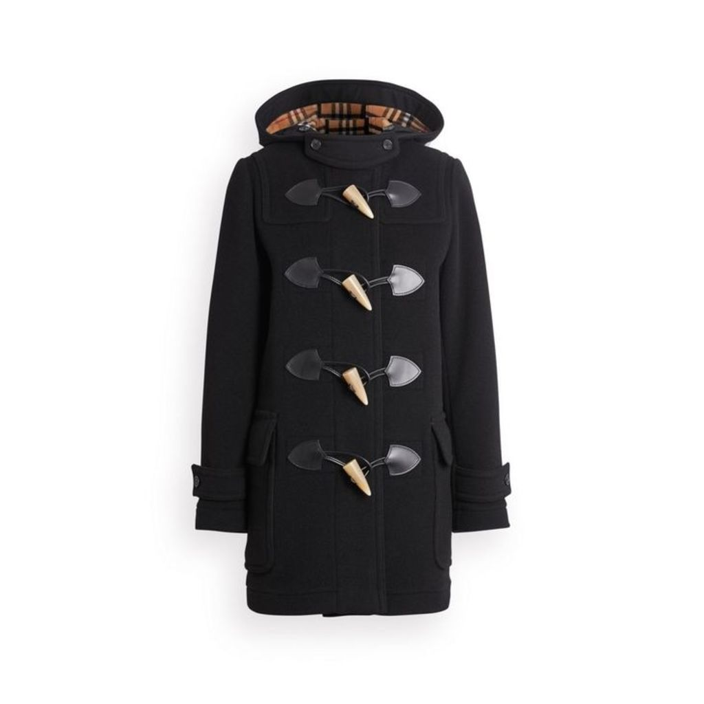 Burberry Wool Blend Duffle Coat