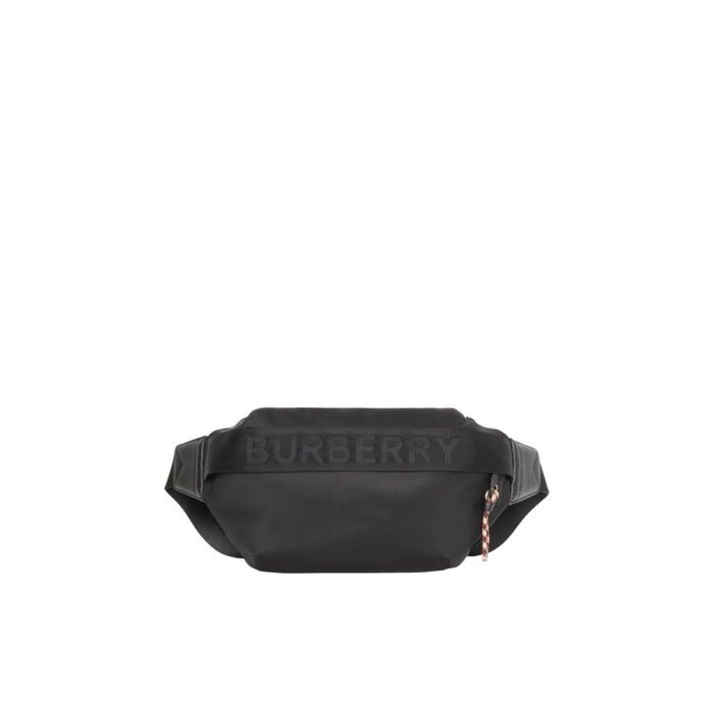 Burberry Medium Logo Detail Bum Bag