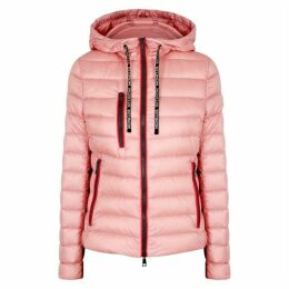 Moncler Seoul Pink Quilted Shell Jacket