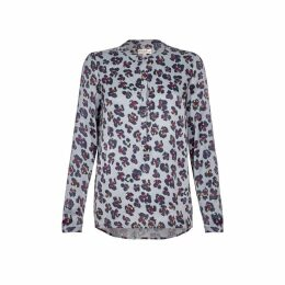 NOOKI DESIGN - Diana Blouse - Grey Leopard