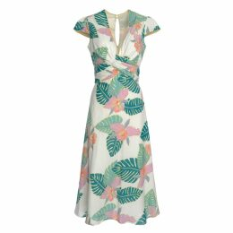 Libelula - Millie Dress Big Leaf Print