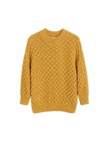 Knit cotton sweater