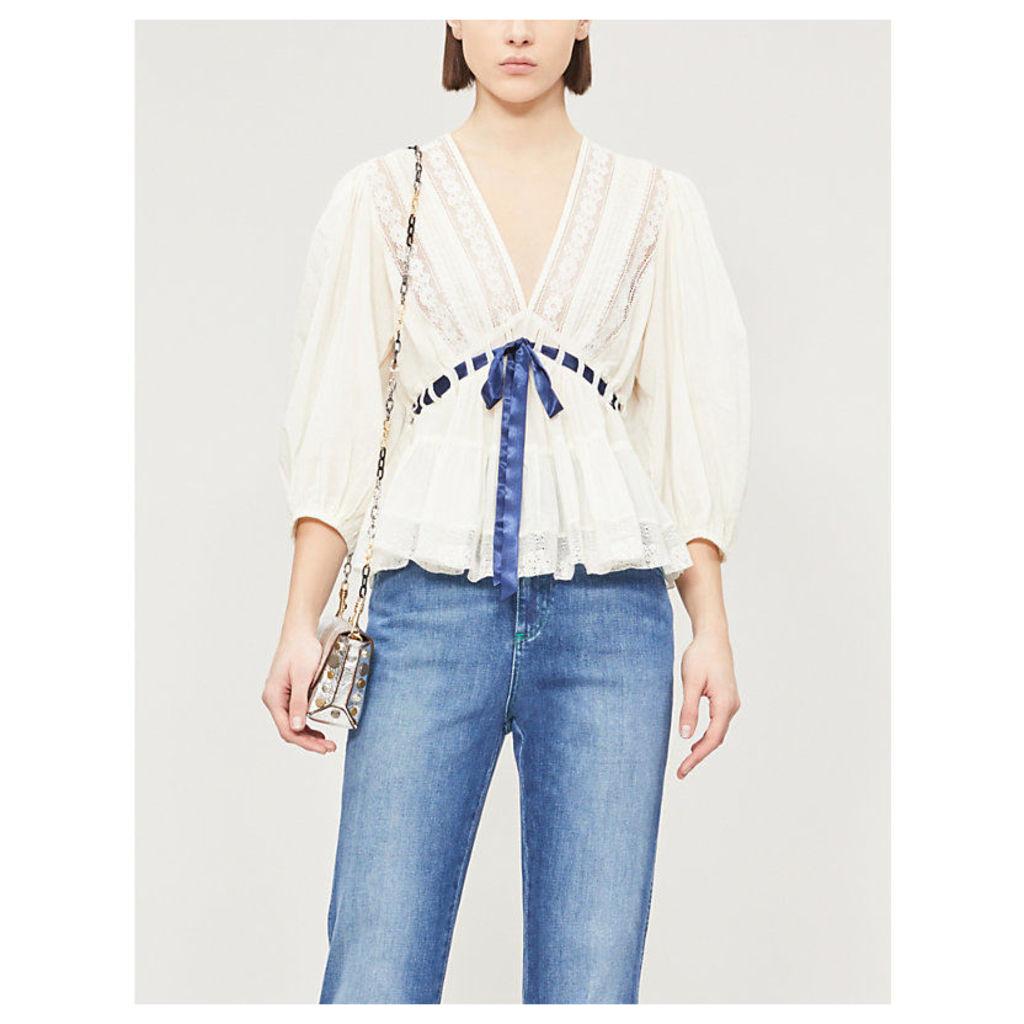 Fave Romance cotton top