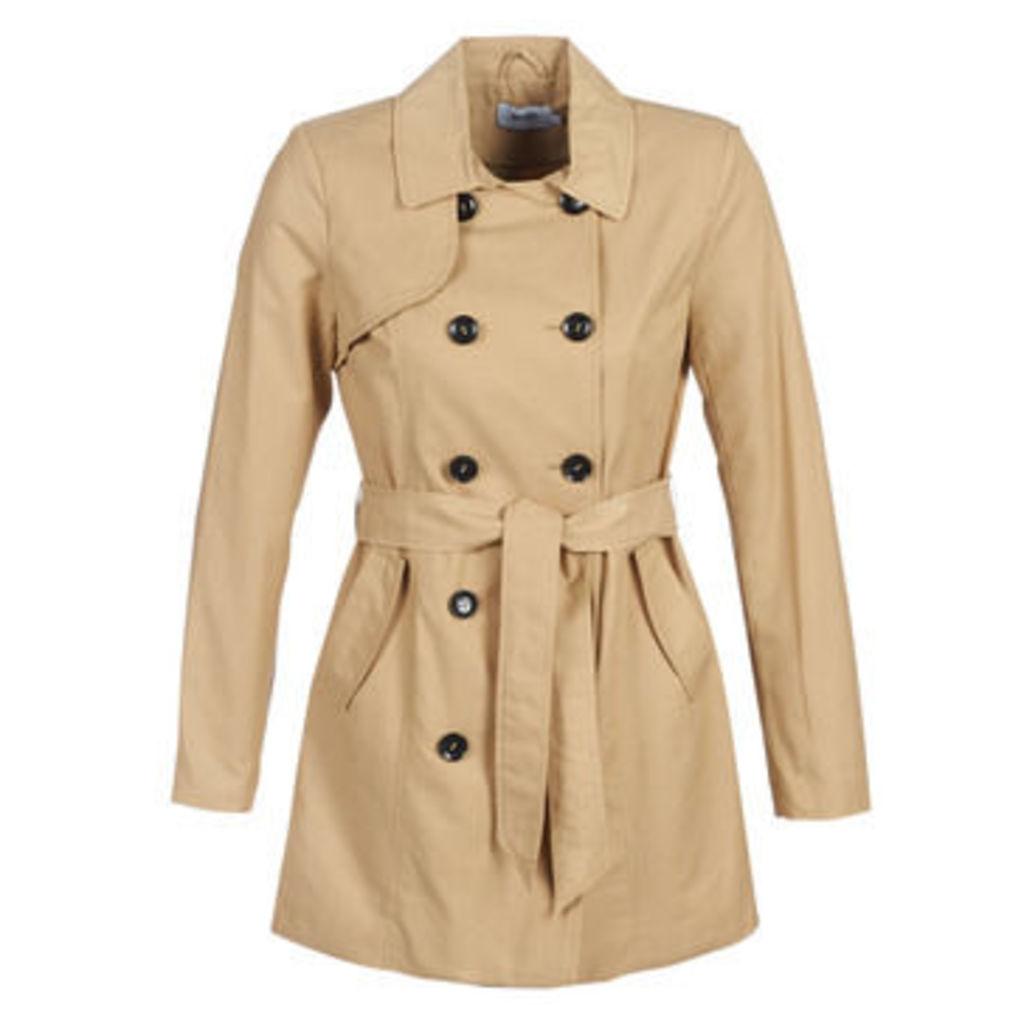 Only  ONLMADDIE  women's Coat in Beige