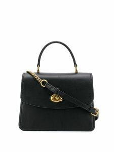 Coach twist-lock satchel bag - Black