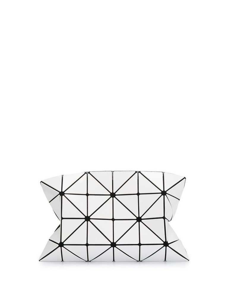 Bao Bao Issey Miyake bao clutch bag - White