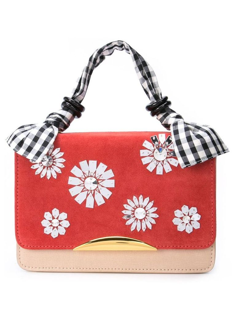 Lizzie Fortunato Jewels Beatrice small tote bag - Red