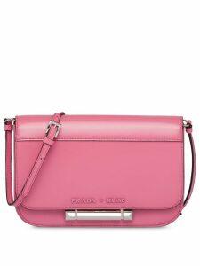 Prada Sybille leather shoulder bag - Pink